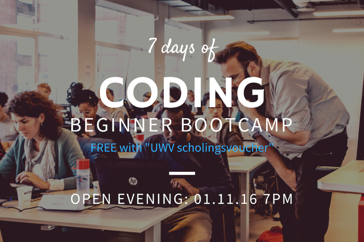 Cover learn the basics of coding in just seven days